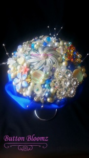 Customer Order Bead & Brooch Bouquet