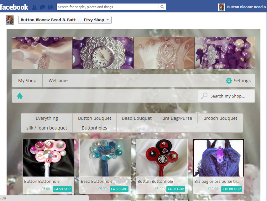 Please Visit My Updated Etsy Shop On Facebook